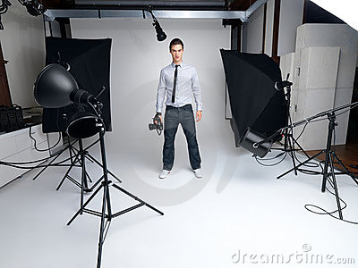 Photographie en studio